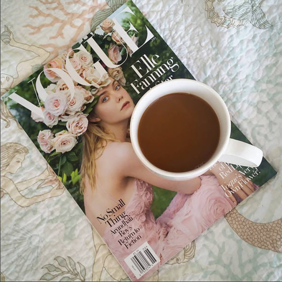 Coffee and Vogue