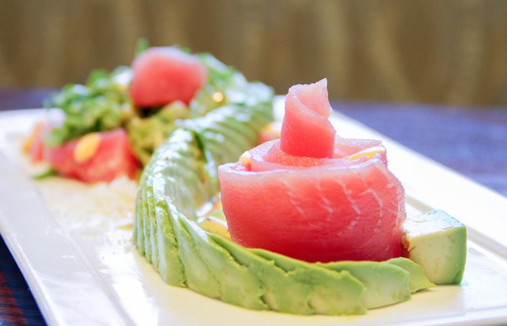Raw Tuna and Avocado Salad