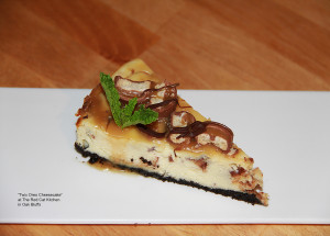 Twix Oreo Cheesecake at The Red Cat Kitchen