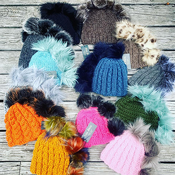 KNIT WIT: BOLD, BEAUTIFUL, BESPOKE KNIT HATS AND PONCHOS FROM NISA MARS